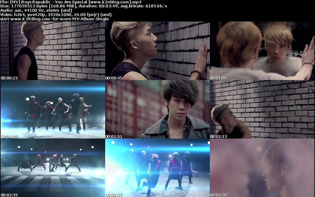 (MV) Boys Republic - You Are Special (HD 1080p Youtube)