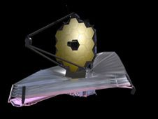 September 2009 artist concept of the<br /> James Webb Space Telescope.<br /> <strong class='bbc'>Credit:</strong> NASA<br /> <strong class='bbc'><a href='http://www.nasa.gov/images/content/590009main_webb-image-lg.jpg' class='bbc_url' title='External link' rel='nofollow external'>� Larger image</a></strong>