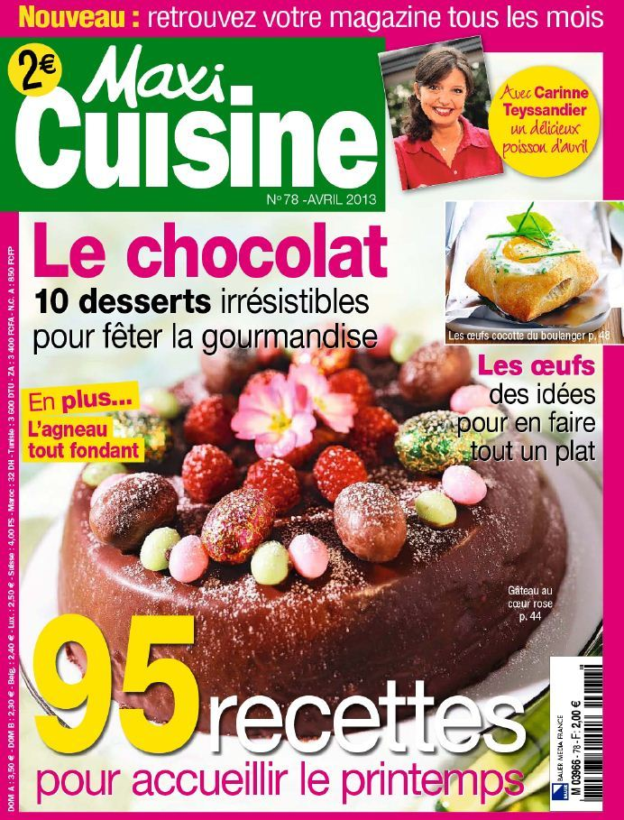 Maxi Cuisine N°78 Avril 2013