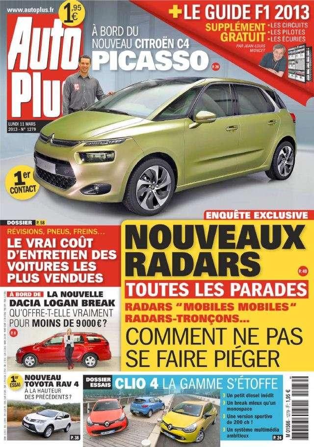 Auto Plus N°1279 du 11 au 17 Mars 2013