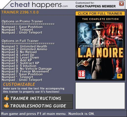 ���� ��� L.A. Noire - NoCD, NoDVD, crack - ��� ��� ��� - ������� ...