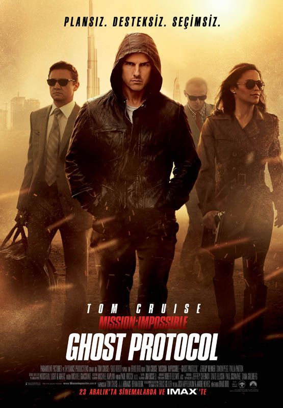 Mission Impossible -Ghost Protocol 2011 TR