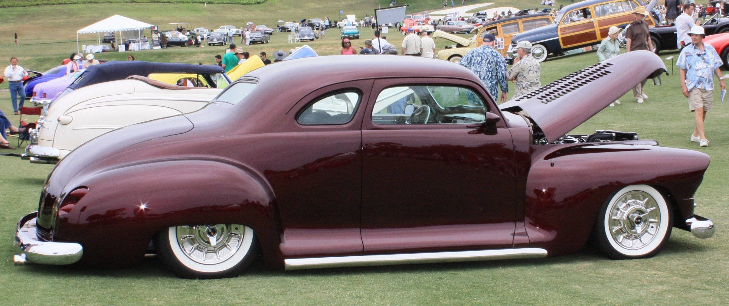 Special cars  Plymouth Business Coupe Custom  1948