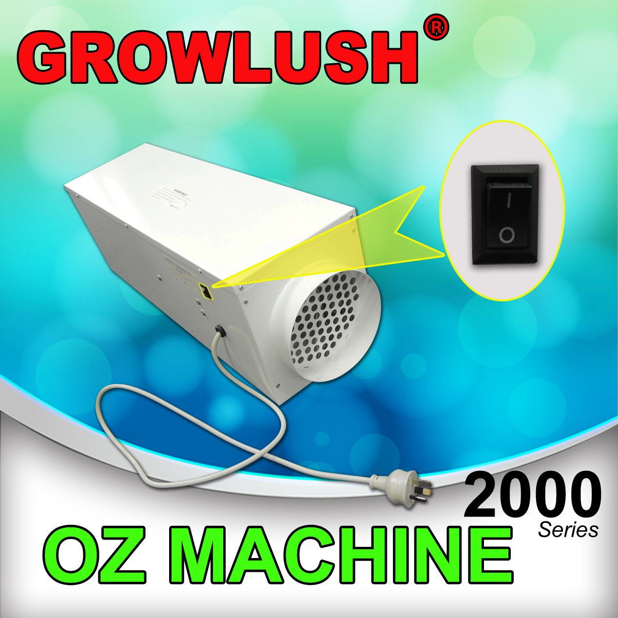 2000mg Hr Ozone Machine Generator To Remove The Smell In